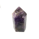 Nature Treasure - Chevron Amethyst Tower - The Protective Stone