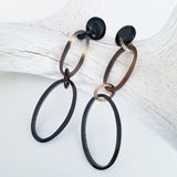 Charismatic Wanderlust Collection - Horn Earrings Thin Rings
