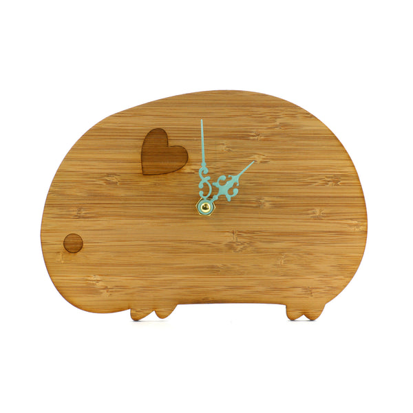 Wooden Clock - Wombat