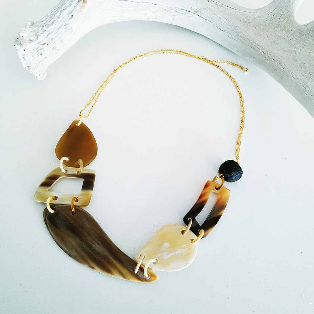 Charismatic Wanderlust Collection - Horn Necklace Soar