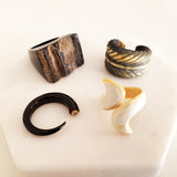 Charismatic Wanderlust Collection - Horn Ring Divergent