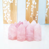 Nature Treasure - Strawberry Quartz Tower- The Inner Love Stone