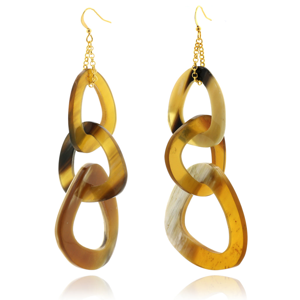 Charismatic Wanderlust Collection - Horn Earrings Wild Heart