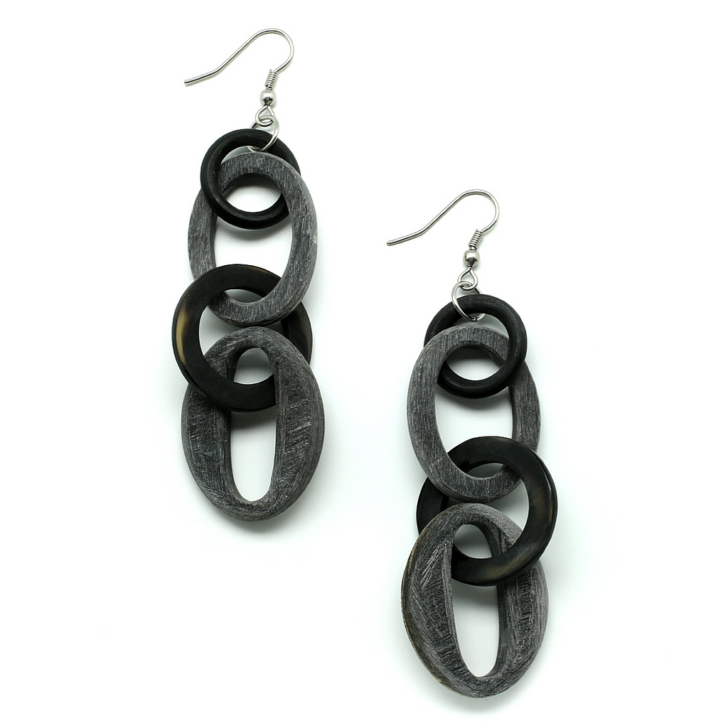 Charismatic Wanderlust Collection - Horn Earrings Florence - Soul Made Boutique