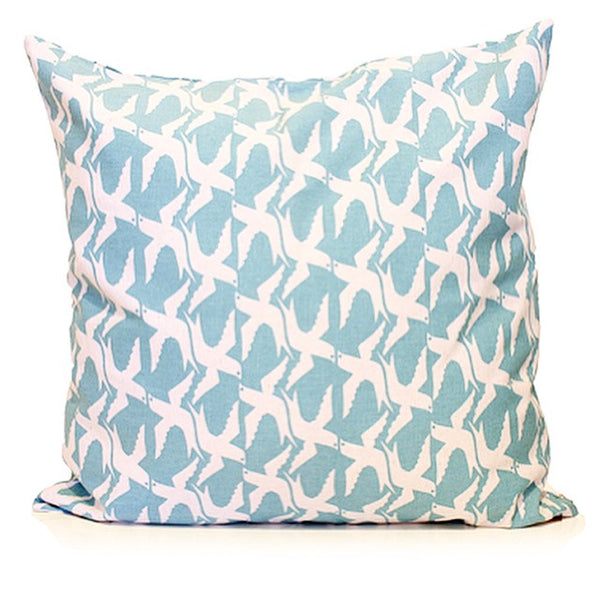Screen Printed Birds Cushion Cover