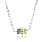 Adore Gemstone Collection - Fluorite Strand Necklace - Soul Made Boutique
