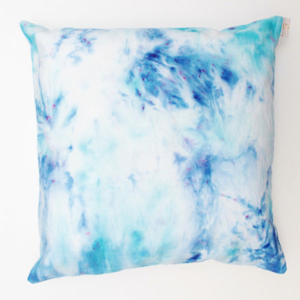 Watercolor Hand Dyed Cushion Cover