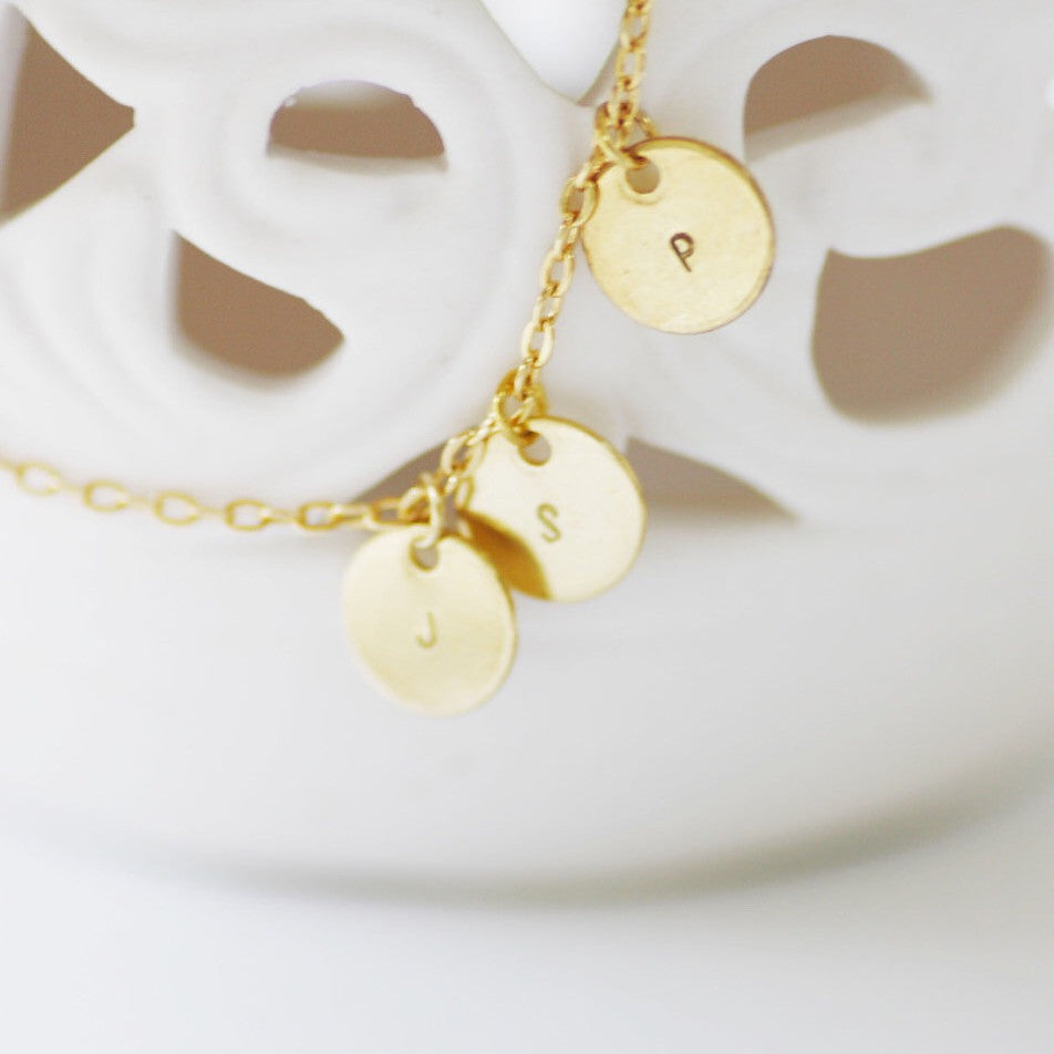 Amor Personalised Collection - Necklace Small Disc - Soul Made Boutique