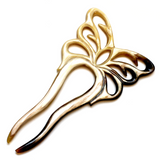 Charismatic Wanderlust Collection - Horn Hairpin Butterfly Lover - Soul Made Boutique