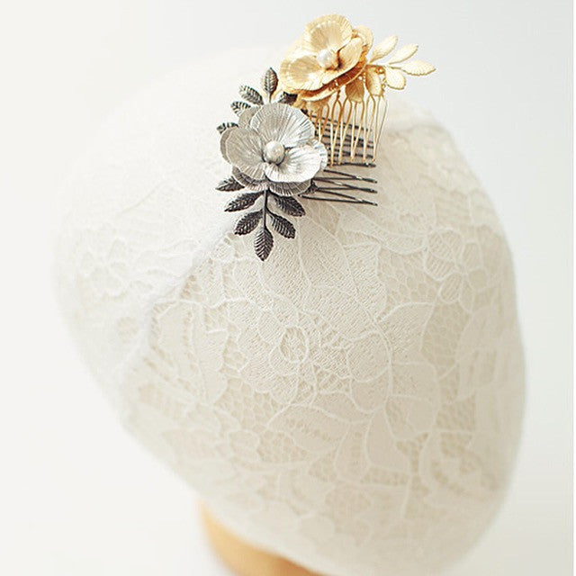Blossom Pearl Comb Hair Accessory - Soul Made Boutique