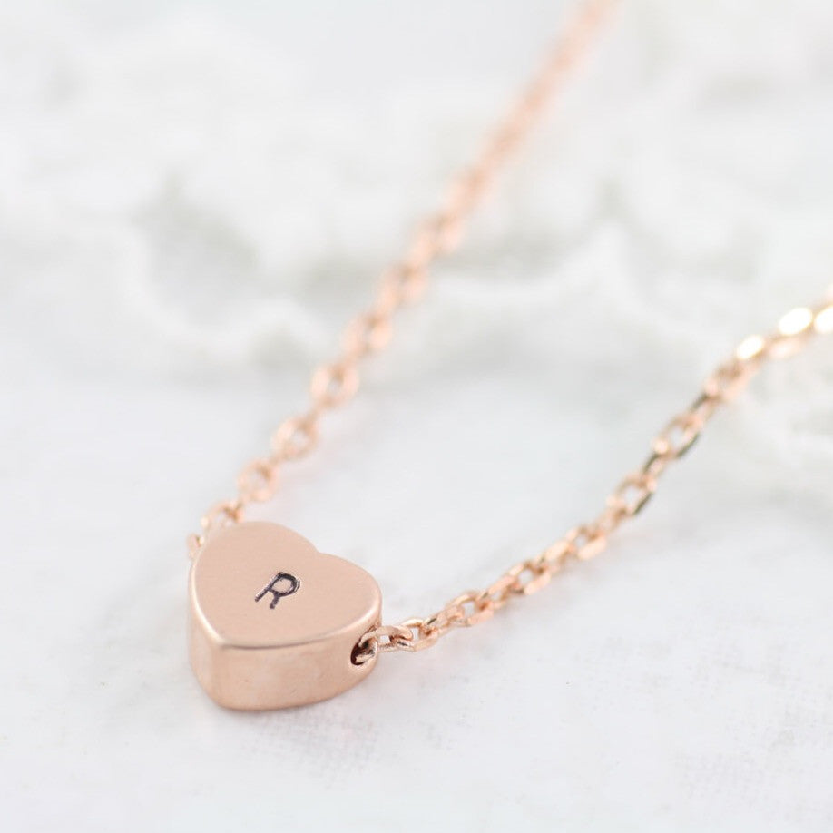 Amor Personalised Collection - Necklace Heart - Soul Made Boutique
