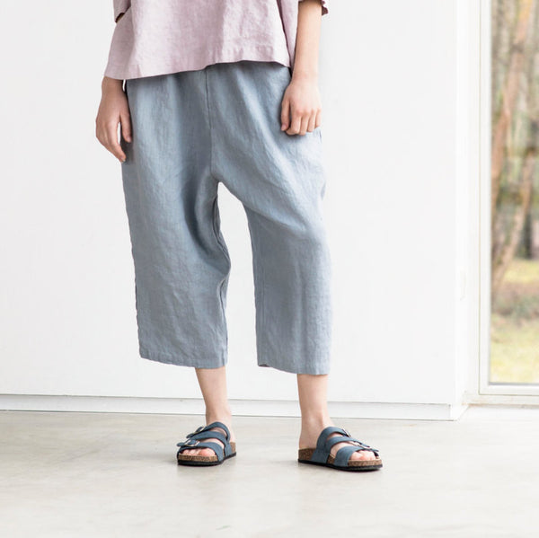 Eden Oversized Linen Pants