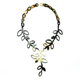 Charismatic Wanderlust Collection - Horn Necklace Leaves