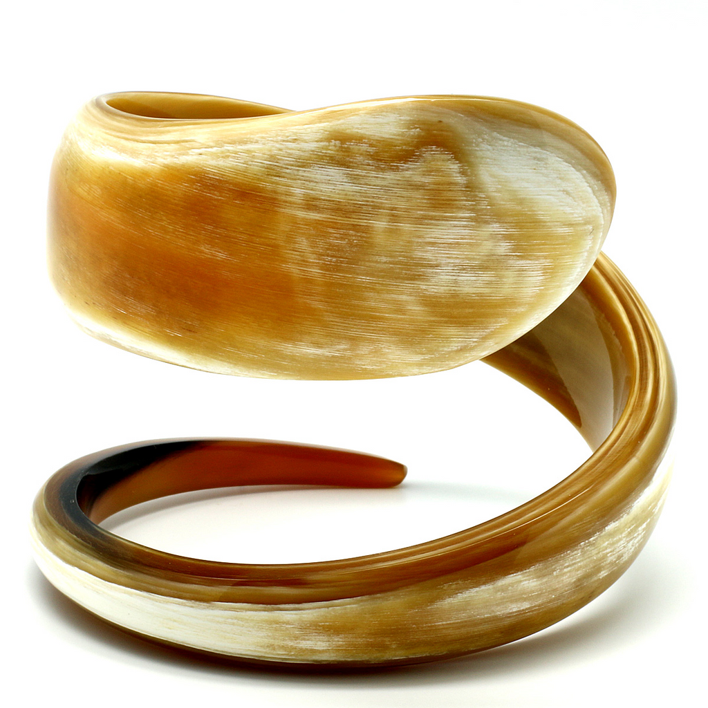 Charismatic Wanderlust Collection - Horn Bangle Twister - Soul Made Boutique