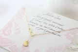 Amor Personalised Collection - Necklace Gold Sterling Silver Infinity Heart - Soul Made Boutique