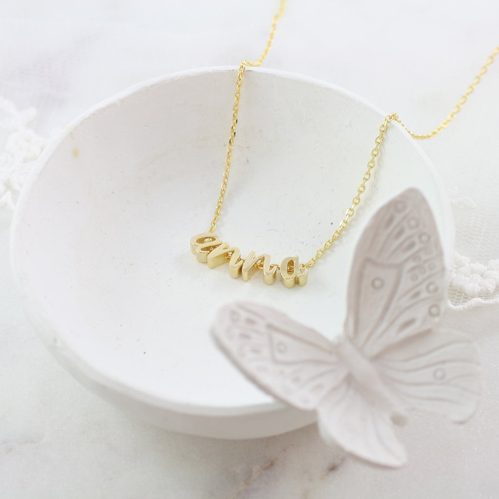 Amor Personalised Collection - Necklace Initials - Soul Made Boutique