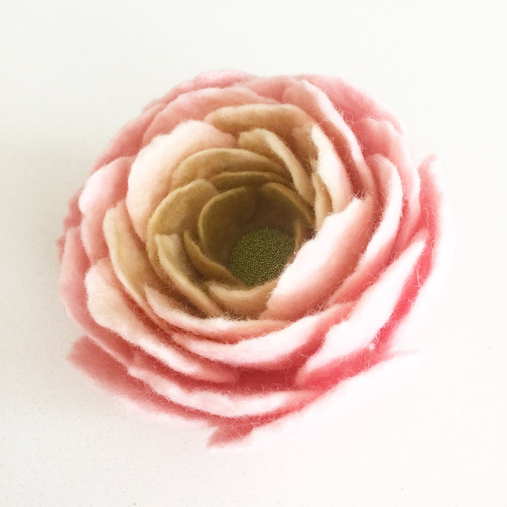 Felt Floral Brooch - Soul Made Boutique