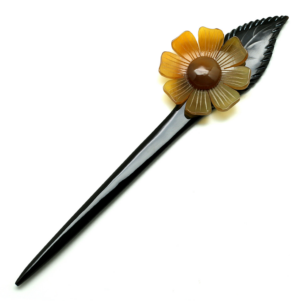 Charismatic Wanderlust Collection - Horn Hairpin Buttercup - Soul Made Boutique