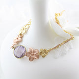 Allure Botanical Collection - Bracelet Unique Floral Design - Soul Made Boutique