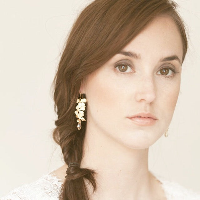 Allure Botanical Collection - Earrings Cascading Butterfly - Soul Made Boutique