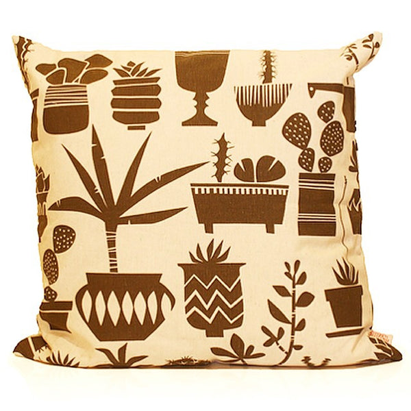 Screen Printed Cactus Cushion Cover