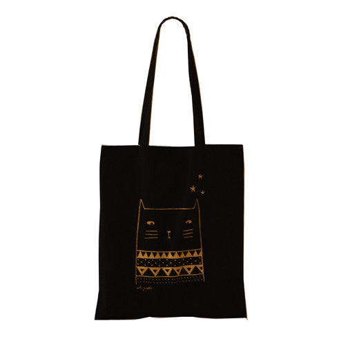 Tote Bag French Cat