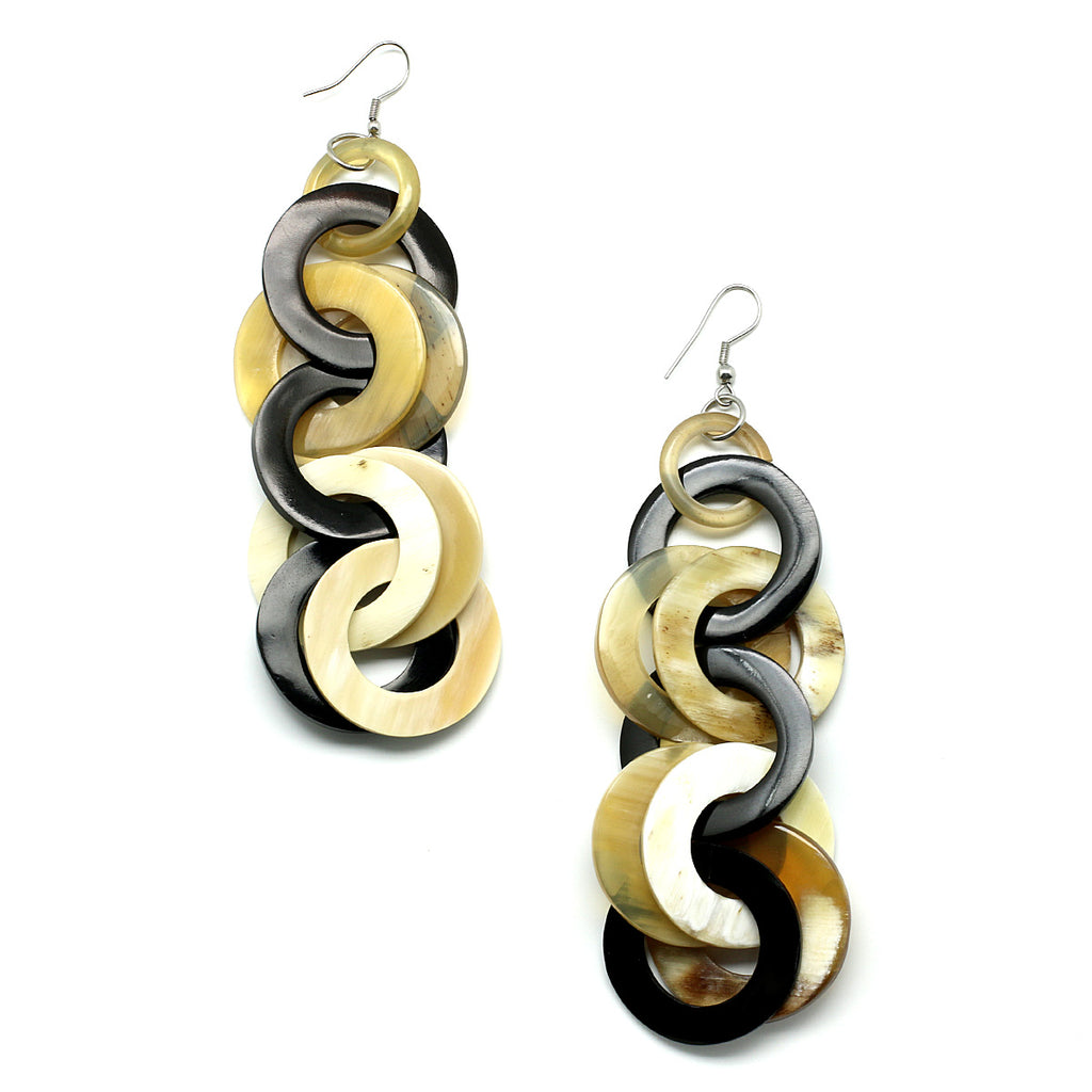 Charismatic Wanderlust Collection - Horn Earrings Bond - Soul Made Boutique