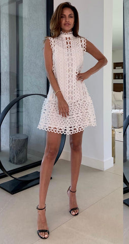 White lace Zimmerman style women's dress Havetolove fashion boutique online