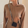 Women's Hooded Sweater Dress-Havetolove.com