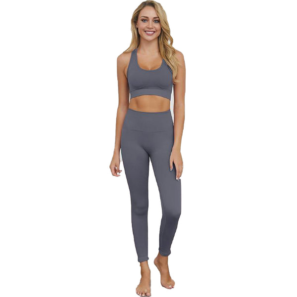 Women's Seamless Gym Set - Various Colours-Havetolove.com