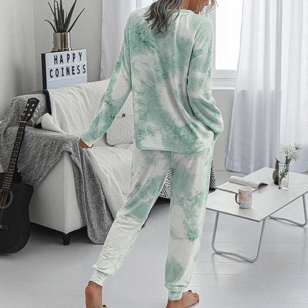 Women's Tie Dye Loungewear - Various Colours-Havetolove.com