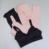 Women's Ruffle Detail Activewear Set-Havetolove.com