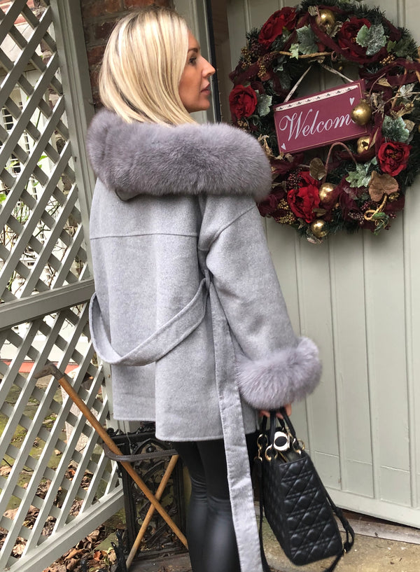Women's Oversized Cashmere Coat-Havetolove.com