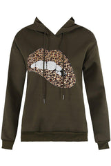 Marcus - Sequin Lips Women's Hoodie - Various colours-Havetolove.com