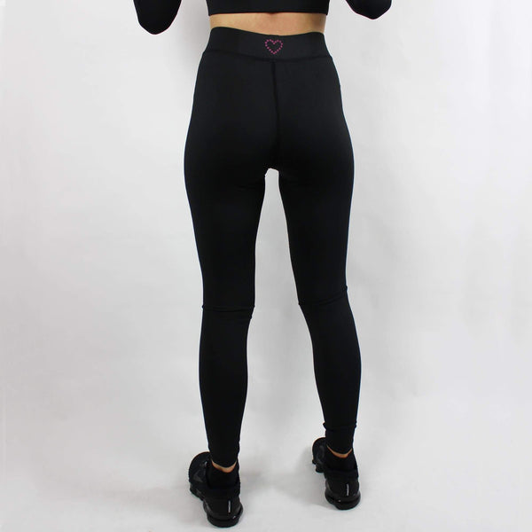 -The Rowling - Women's Activewear Full Length Leggings - Black-Havetolove.com