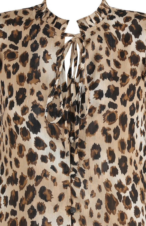 -Women's Smock Dress - Leopard Print-Havetolove.com