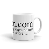 Baldly Going  Coffee Mug