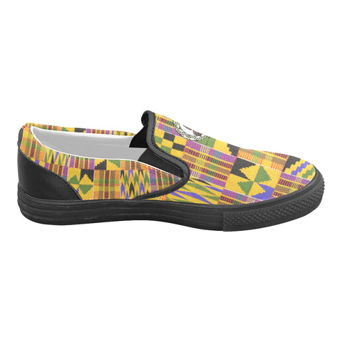 KENTE EDITION SLIP ON SHOES