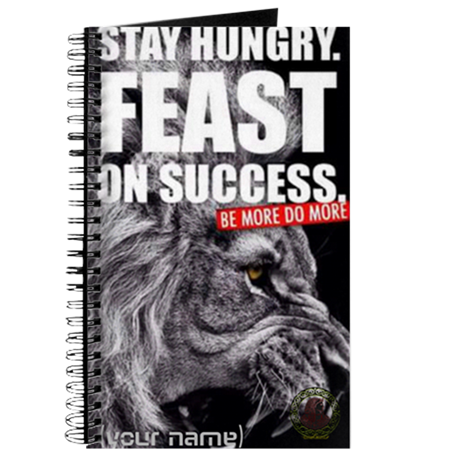 FEAST ON SUCCESS CUSTOM NOTEBOOK