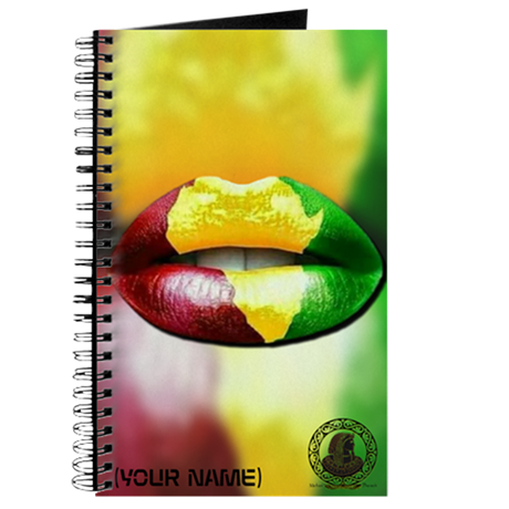 AFRICAN KISS CUSTOM NOTEBOOK