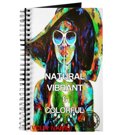 NATURAL VIBRANT AND COLORFUL CUSTOM NOTEBOOK