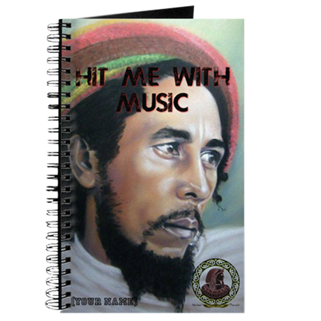 BOB MARLEY NOTEBOOK