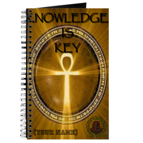 KEY IS KNOWLEDGE NOTEBOOK