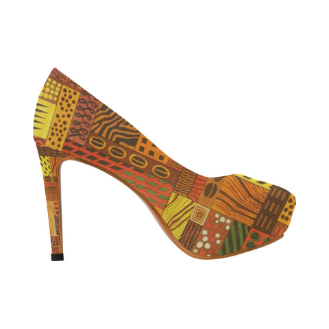 CLEO WEAR JUNGLE FEVER HEELS