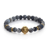 FREE Tiger Eye Lion Head Bracelet Buddha beads Bracelets Bangles