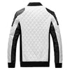 Image of New Design Men's Jacket Winter&Autumn PU Leather Black&White
