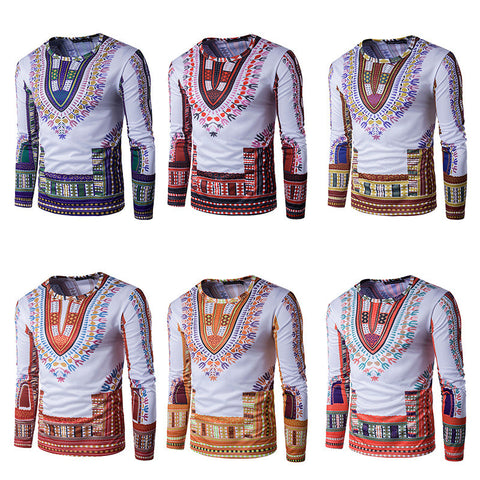 AFRICAN CUSTOM LONG SLEEVE DASHIKI