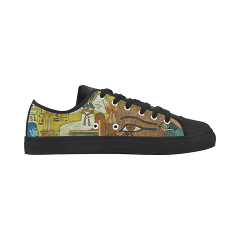 MICHAEL PHARAOH KEMETIC DREAMS #3 WOMEN LOW TOP