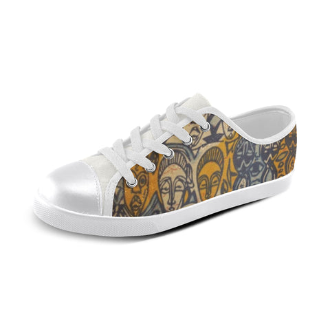 African Printed Customed Dashiki Kids Shoes