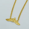 Image of Free Egyptian Goddess Isis necklaces Goddess Wing Necklace Ankh